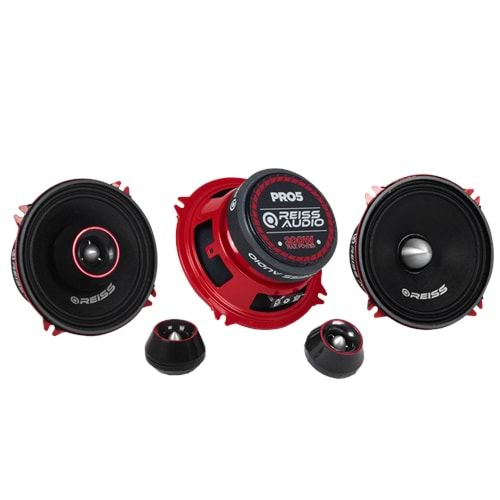 Reiss Audio RS-PRO5 200 Watt Max Power+30 Watt RMS Power+13cm Oto Companent Midrange