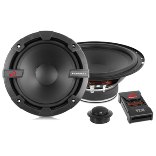 Massive MS-TDI4/CV4 10cm Companent 125 Watt Max Power + 60 Watt RMS Power